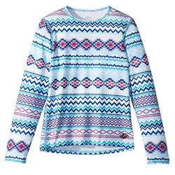 Hot Chillys Midweight Print Crewneck - Kid's