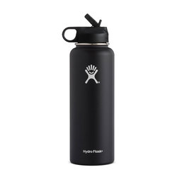 Hydroflask 40 oz Wide Mouth w/ Straw Lid