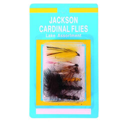 Jackson Cardinal LA Lake Fly Assortment
