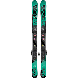 K2 Indy Skis W/ FDT 4.5 Bindings - Kid's 2019