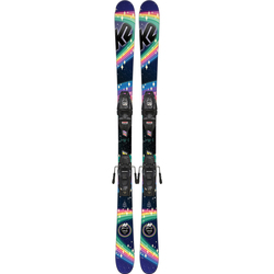 K2 Missy Skis W/ 7.0 FDT Binding - Kid's 2019