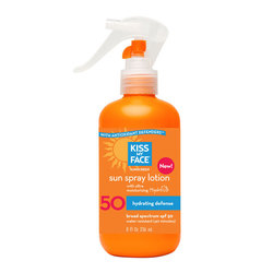 Kiss My Face Sunspray Lotion SPF 50
