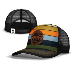 Little Bay Root Oregon Fifty Ranges Curved Trucker Hat