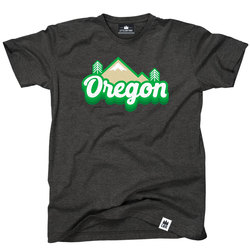 Little Bay Root Oregon Cascades Retro Tee Shirt