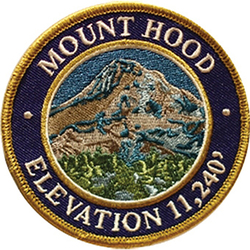 Mountain Patches Mount Hood Patch