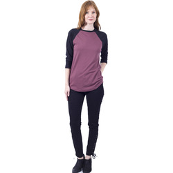 Lira Clothing Solid Raglan - Women's