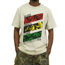 LRG Blood Sweat Leaves Tee