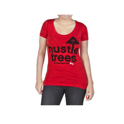 LRG Hustle Trees Scoop Neck T-Shirt