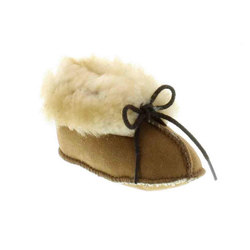 Minnetonka Genuine Sheepskin Bootie - Infant