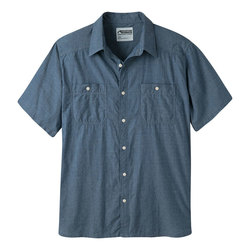 Mountain Khaki Ace Indigo Short Sleeve Shirt