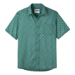Mountain Khaki Fish Hatch Signature Print Shirt