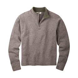 Mountain Khaki Quarter Zip Sweater