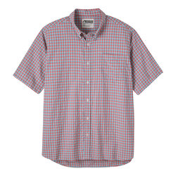 Mountain Khaki Spalding Gingham Short Sleeve Shirt