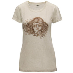 Meridian Line Birdbabe Mountains Triblend T-Shirt - Women's