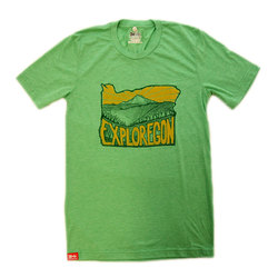 The Meridian Line Exploregon T-Shirt