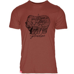 Meridian Line Yellowstone GrizzlyTriblend T-Shirt