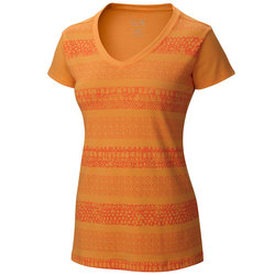 Mountain Hardwear Dryspun Batika V Neck Shirt - Womens