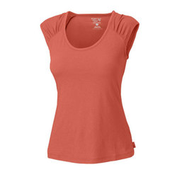 Mountain Hardwear Pandra Cap Sleeve Tee - Womens