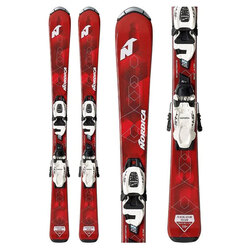 Nordica Navigator Team Skis with FDT 7.0 Bindings - Kid's