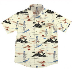 Neff Astro Death Beach S/S - Men