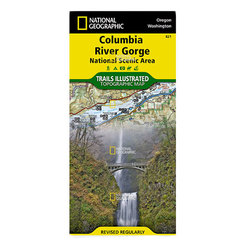 National Geographic Maps Columbia River Gorge National Scenic Area