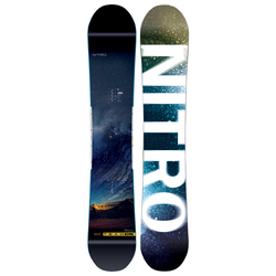Nitro Mens Team Exposure Wide Snowboard 2019