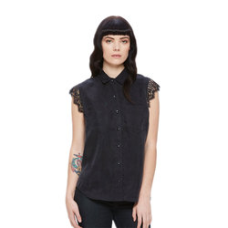 Obey Heart Noir Shirt - Women's