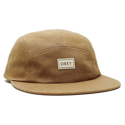 Obey Ideals Organic 5 Panel Hat