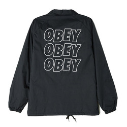 Obey Jumble Lo-Fi Coaches Jacket