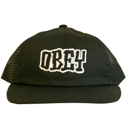Obey Runnin Trucker Hat