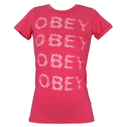 Obey Everythings Electric S/S Tee - Women's