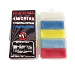 One  Ball Jay 4 Wheel Drive Wax 5 Pack