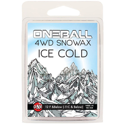 One Ball Jay 4WD 165G Ice Snow Wax