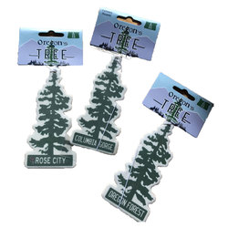 Cultural Blends Oregon's Tree Air Freshener
