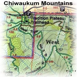 Green Trails Maps Chiwaukum Mountains