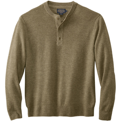Pendleton Merino Magic-Wash Henley Shirt - Men's
