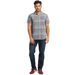 Prana Cayman Plaid Short Sleeve Shirt - Men's