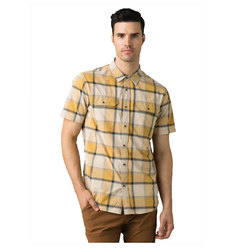 Prana Cayman Plaid Short Sleeve Shirt
