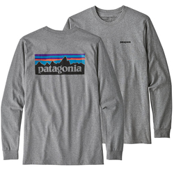 Patagonia Long Sleeved P-6 Logo Responsibili-Tee® Shirt - Men's