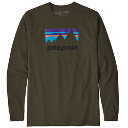 Patagonia Long-Sleeved Shop Sticker Responsibili-Tee®
