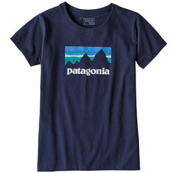 Patagonia Shop Sticker Cotton/Poly Responsibili-Tee - Women's