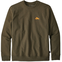 Patagonia Small Flying Fish Uprisal Crew Sweatshirt