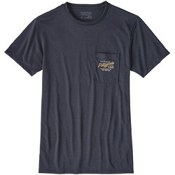 Patagonia Splitter Script Recycled Poly Pocket Responsibili-Tee