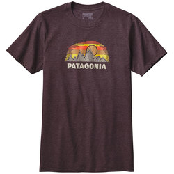 Patagonia Woven Fitz Roy Cotton/Poly T-Shirt