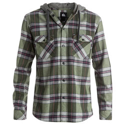 Quiksilver Snap Up Long Sleeve Shirt - Men's