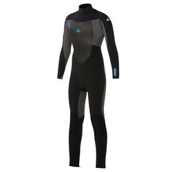 Quicksilver Syncro Boys 4/3mm Back Zip Wetsuit