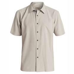 Quiksilver Cane Island Short Sleeve Mini-Check Shirt - Men's