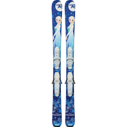 Rossignol Frozen Skis with Kid-X 4 Bindings