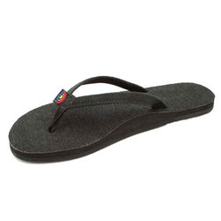 Rainbow Hemp Single Layer Sandals - Women's