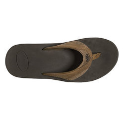 Reef Leather Fanning Sandals
